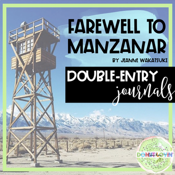 Farewell to manzanar teaching resources teachers pay teachers farewell to manzanar dialectical journals farewell to manzanar dialectical journals fandeluxe Image collections