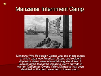 Farewell to Manzanar Introduction Powerpoint