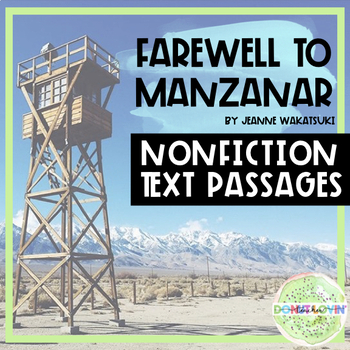 Farewell to Manzanar Issei and Nisei Nonfiction Text Passages
