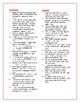 Farewell to Manzanar: Synonym/Antonym Vocab Crossword-Use