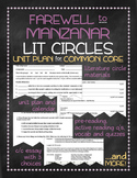 Farewell to Manzanar nonfiction novel study with lit circles for Common Core