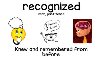 Farfallina & Marcel *Treasures Reading* 2nd Grade Vocabulary Cards (Unit 5, L4)