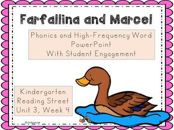 Farfallina and Marcel, PowerPoint, Kindergarten, Reading Street