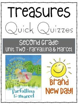 Farfallina and Marcel Quick Quiz- Treasures Grade 2