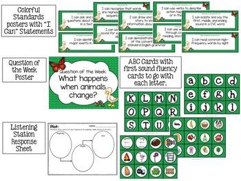 Farfallina and Marcel Kindergarten Unit 3 Week 4