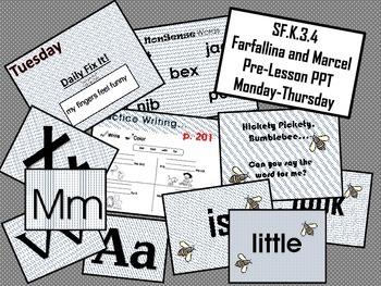 Farfallina and Marcel SF.K.3.4 Pre-Lesson PPT