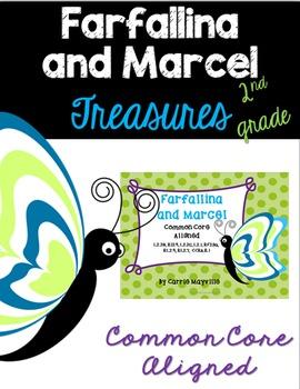 Farfallina and Marcel: Treasures 2nd Grade: Common Core Aligned Activities