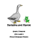 Farfallina and Marcel Vocabulary Posters