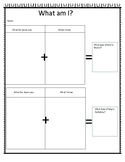 Farfallina and Marcel inference worksheet