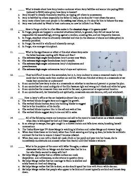 Fargo Film (1996) 15-Question Multiple Choice Quiz