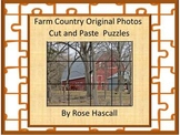 Farm Country Original Photos Cut and Paste Puzzles