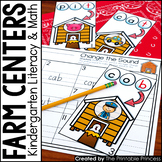 Kindergarten Farm Centers for Math and Literacy Activities