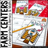 Kindergarten Farm Theme Centers   Math and Literacy Activities