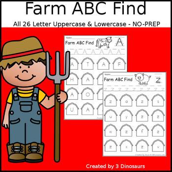 Farm ABC Letter Find