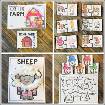 Farm Activities Centers And Crafts For Preschool And