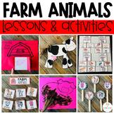 Farm Activities, Centers and Crafts for Preschool and Kindergarten