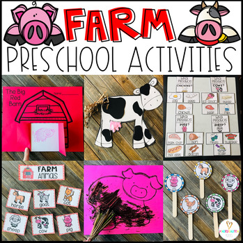 Farm Activities, Centers and Crafts for Preschool and Kind