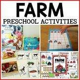 Farm Themed Preschool Math and Literacy Centers