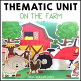 Farm Animals Thematic Unit