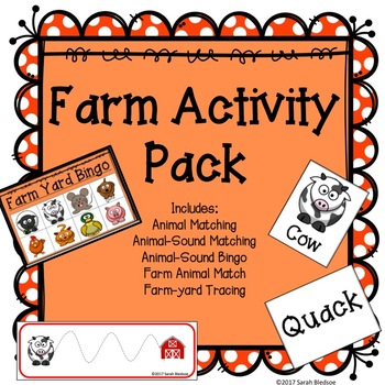 Farm Activity Pack