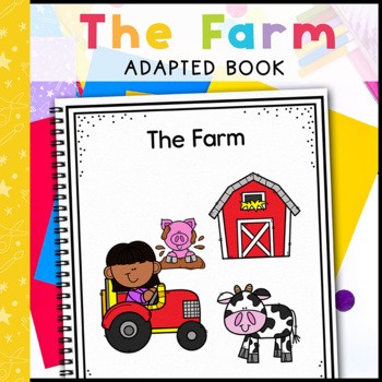 The Farm: Adapted Book for Early Childhood Special Education