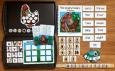"""Farm Adapted Book And Vocabulary Activities:  """"The Hungry"""