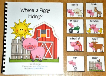 "Farm Adapted Book--""Where is Piggy Hiding?"""