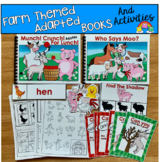 Farm Adapted Books And Activities