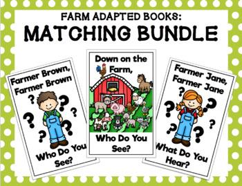 Farm Adapted Books: Matching Bundle