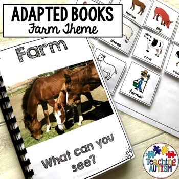 Farm Adapted Books for Special Education