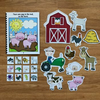 Farm Adapted Song Books (w/Music and Movement)