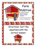 Farm: Addition Sort and Subtraction Sort
