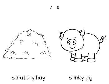 Farm Adjectives Book