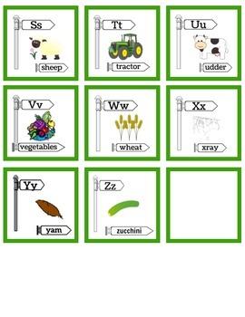 Farm Alphabet