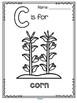 Farm Alphabet - A to Z Activity Book - Vocabulary, Trace and Color