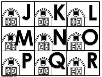 Farm Alphabet Phonics Game