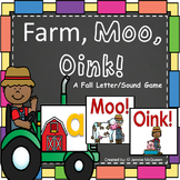 Farm Alphabet Phonics Game