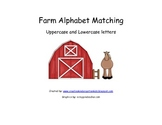 Farm Alphabet Matching