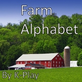 Farm Alphabet -- PowerPoint Presentation and Printables