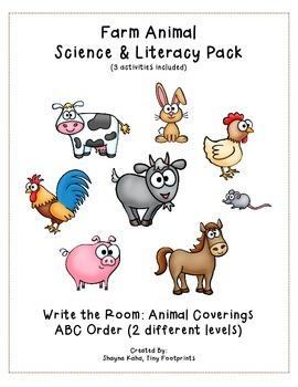 Farm Animal Activity Pack