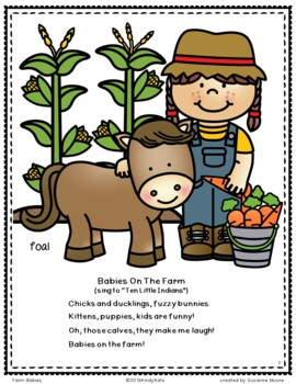 Farm Animal Babies: Songs & Rhymes