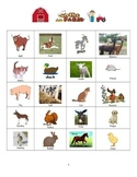Farm Animal Bingo