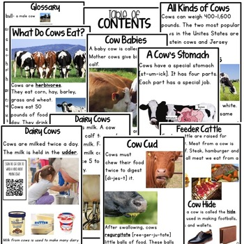 Farm Animal Books for Research