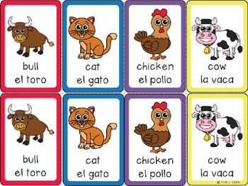 Farm Animal Card Game