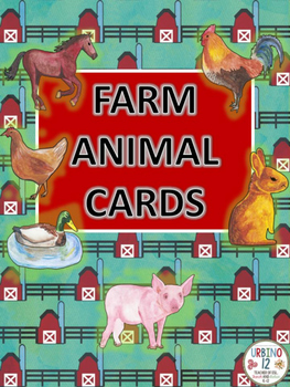 Farm Animal Cards