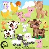 Farm Animal Clipart, Animals, (Best Teacher Tools} AMB-1548