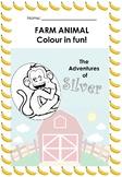 Farm Animal - Colouring in fun