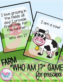 Farm Animal Comprehension Activity