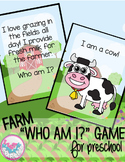 Farm Animal Comprehension Activity