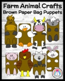 Farm Animal Craft & Writing: Duck, Chicken, Cow, Horse, Sheep, Goat, Pig, Rabbit